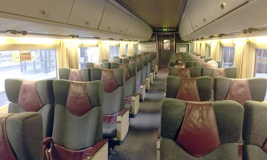 VIA Rail Business Class IMG_1550