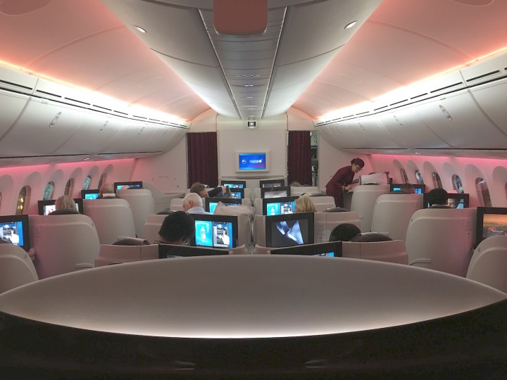 Qatar Airways Dreamliner IMG_1881