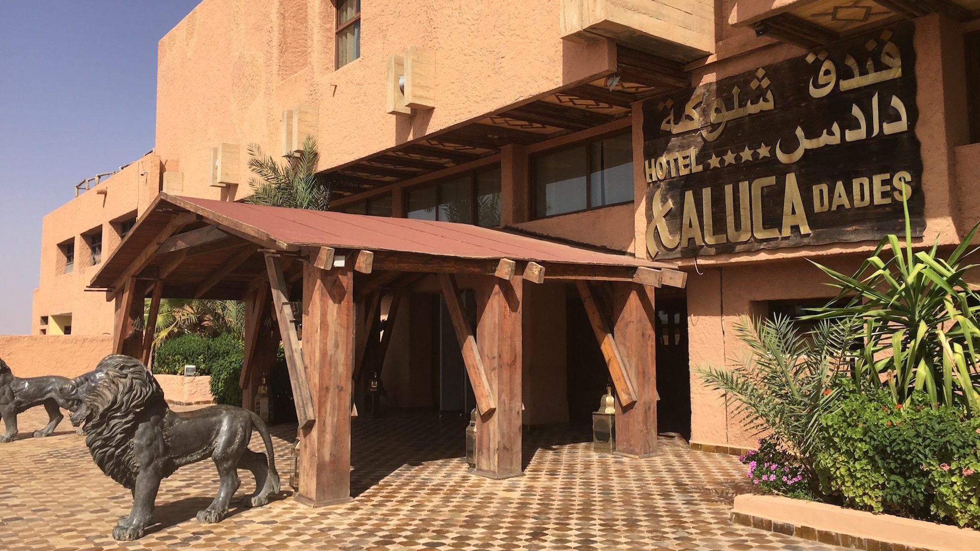 Road to Desert • Hotel Xaluca Dades  -52