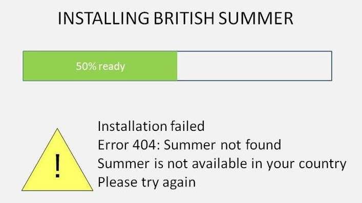 Blimey Summers, Scorching Canuks