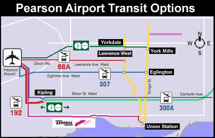 Poor Transport Links for Toronto Airport