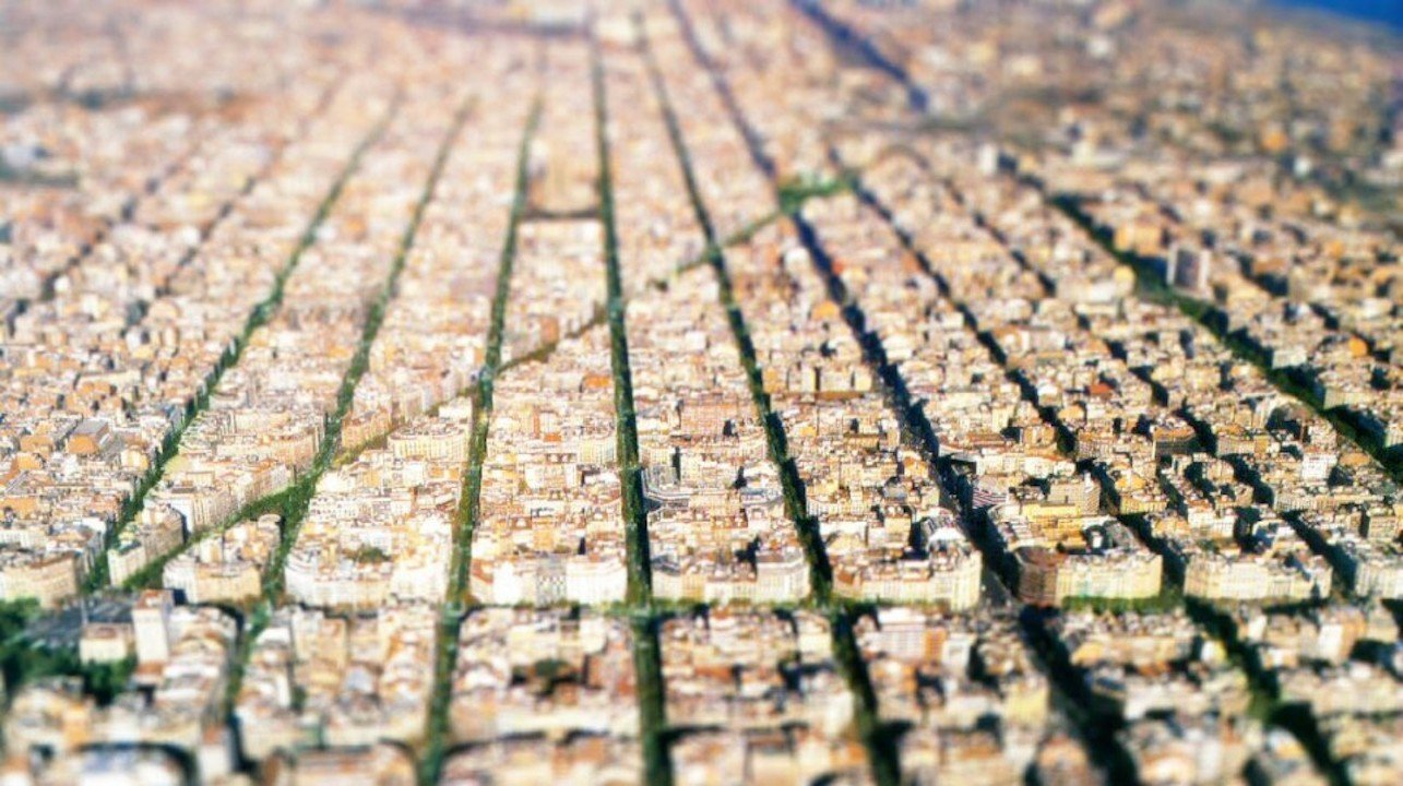 Lost In A Grid – Barcelona
