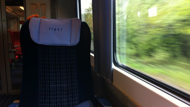 First Class on-board SouthWestTrains