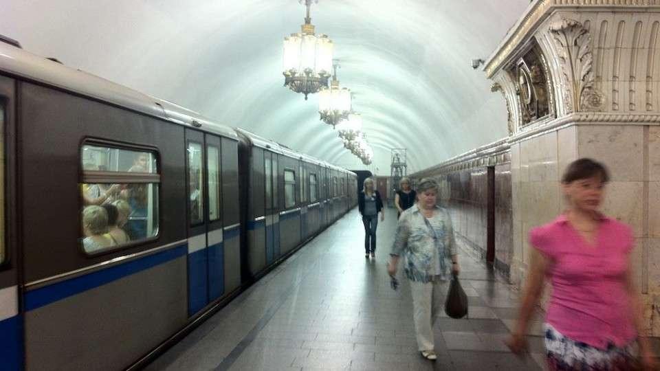 Riding the Moscow Metro