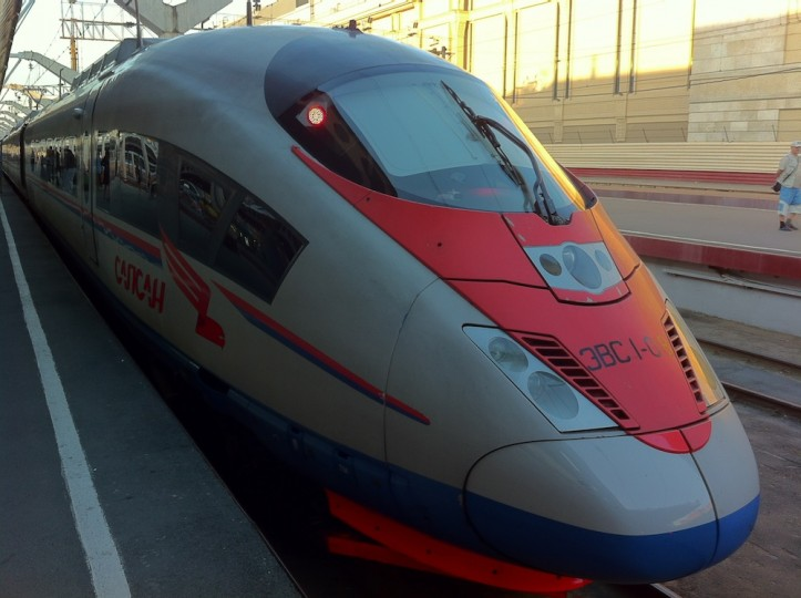 Fastest trains in Russia
