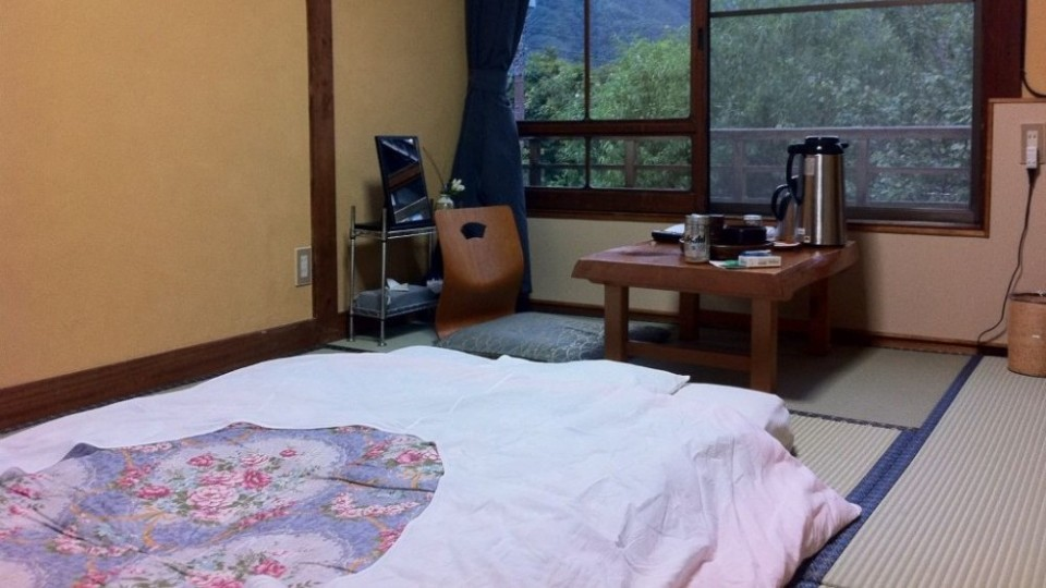 Staying in a Japanese Guest House or Ryokan