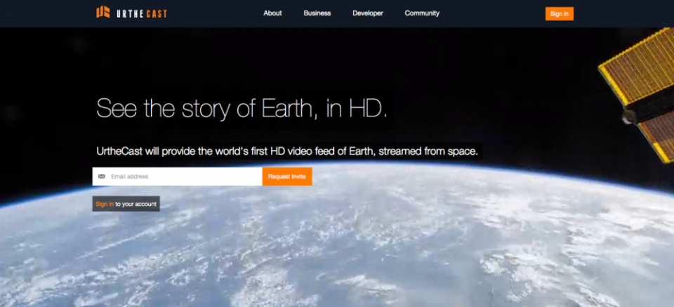 World's first HD streaming video of planet Earth