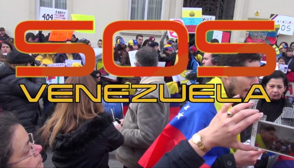 S.O.S. Venezuela rally in London