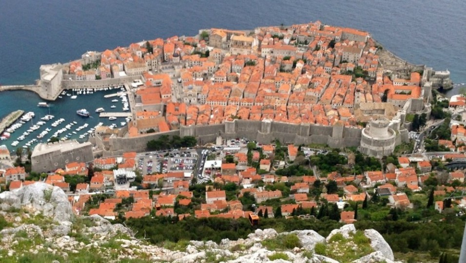 Cavtat town in Croatia