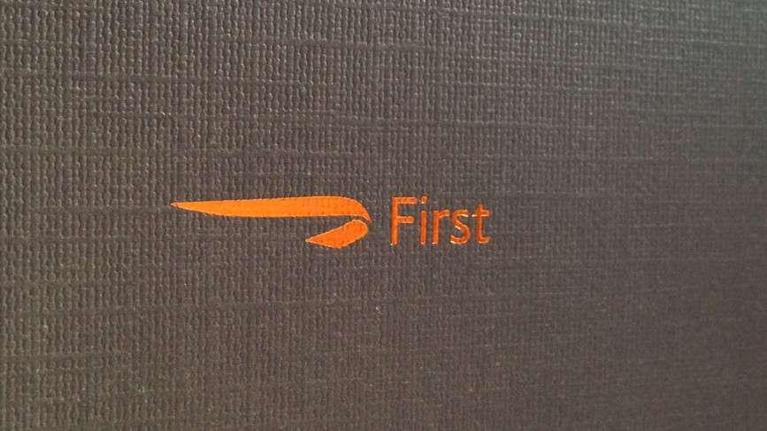 BA First Class flight to Beijing