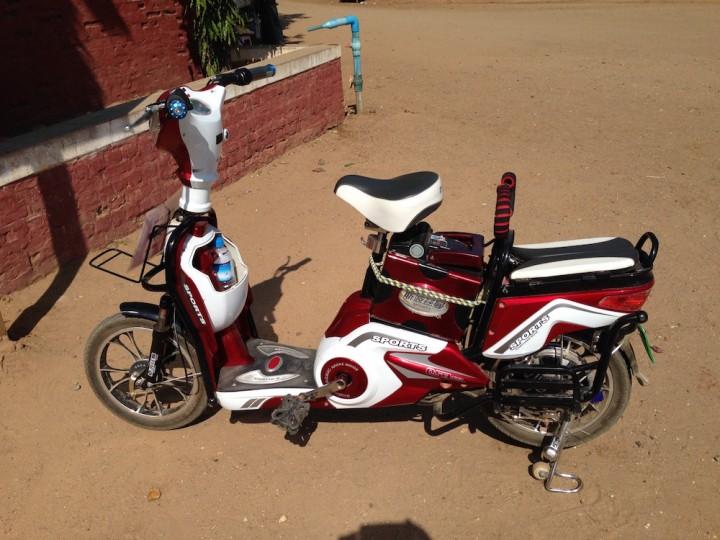 Bagan by bike