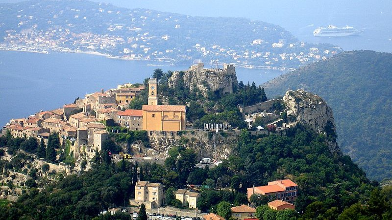 Eze_viewed_from_Grand_Corniche