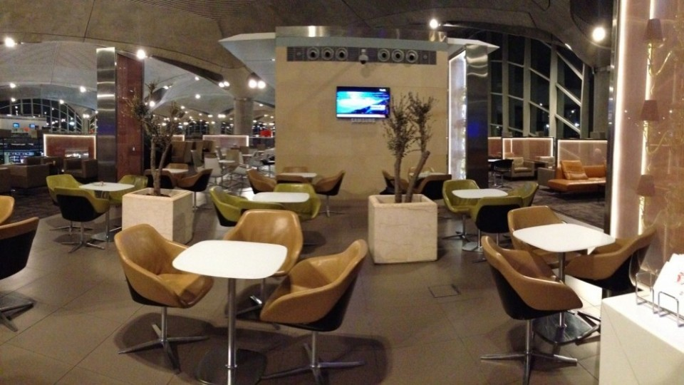 Royal Jordanian Crown Lounge