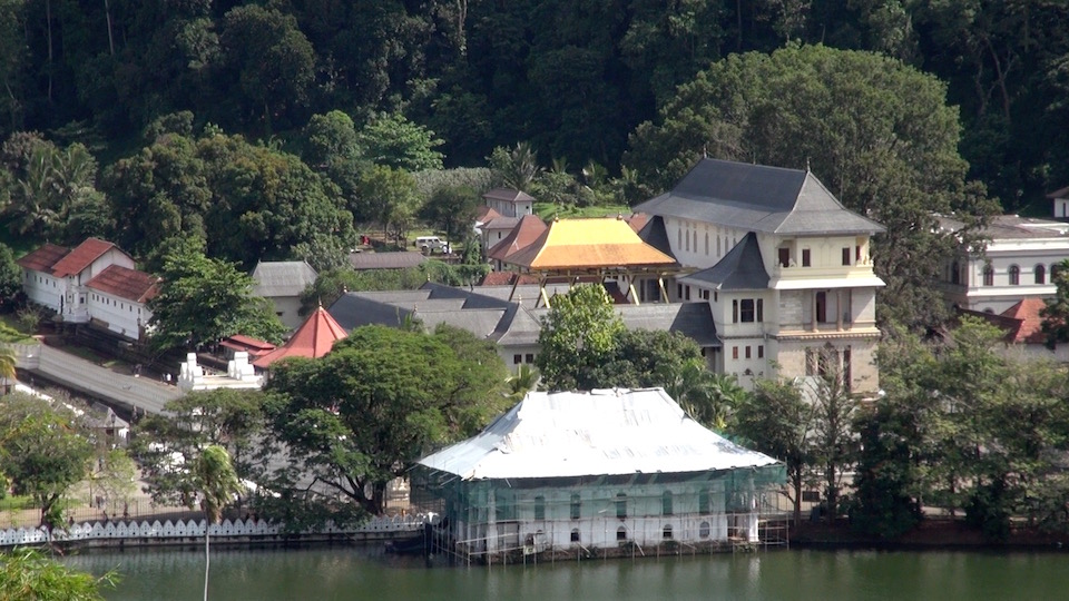 Kandy and the Temple of the Tooth Relic