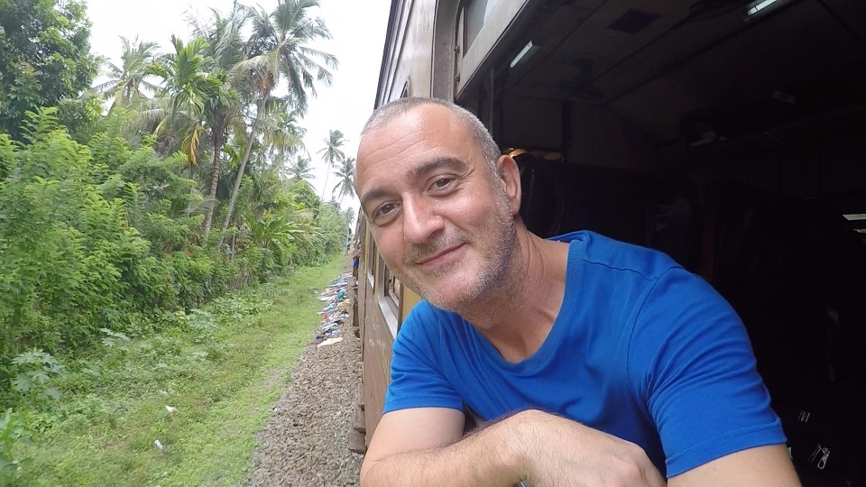 A train ride on Sri Lanka Railway