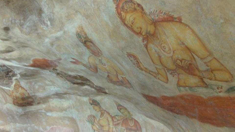 Sri Lanka - Sigiriya Frescoes