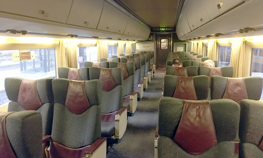 VIA Rail Business Class IMG_1550