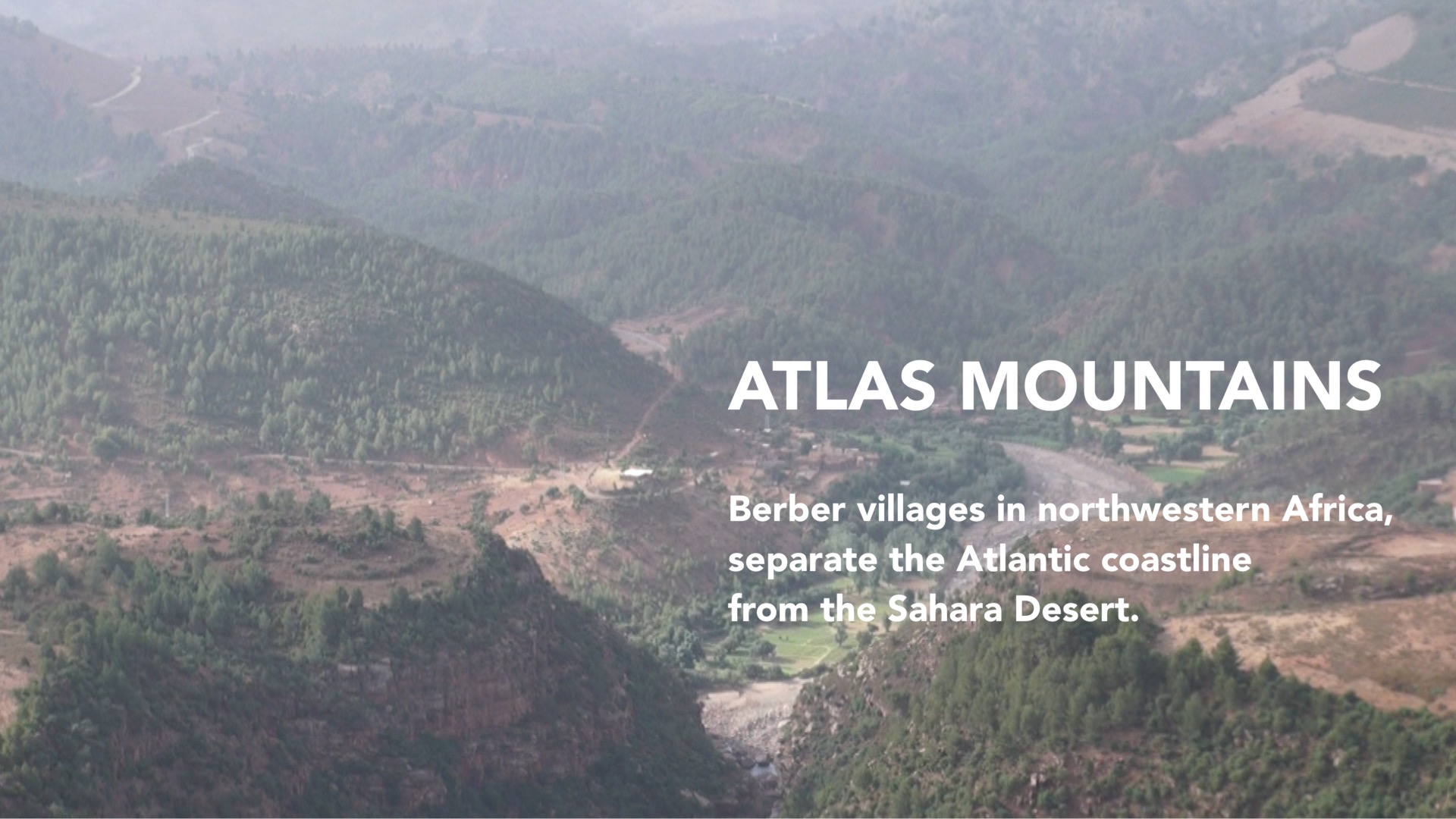 Atlas Mountains of Africa