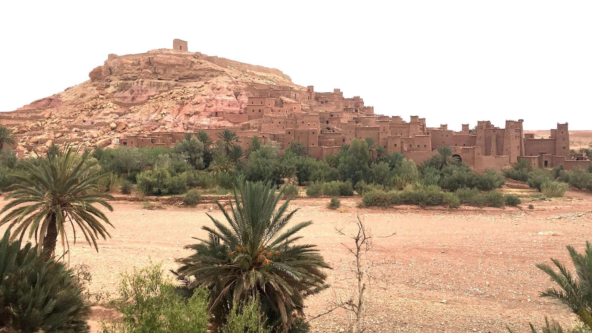 Road to Desert • Morocco Aït Benhaddou-01