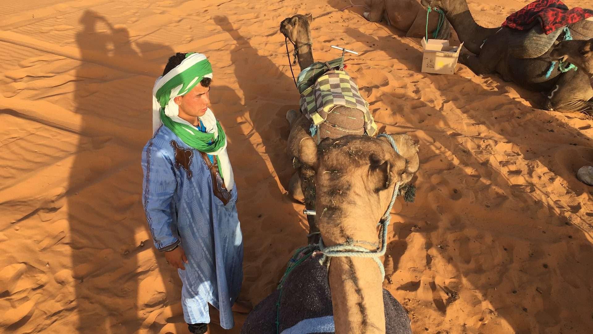 Road to Desert • Morocco Merzouga -02