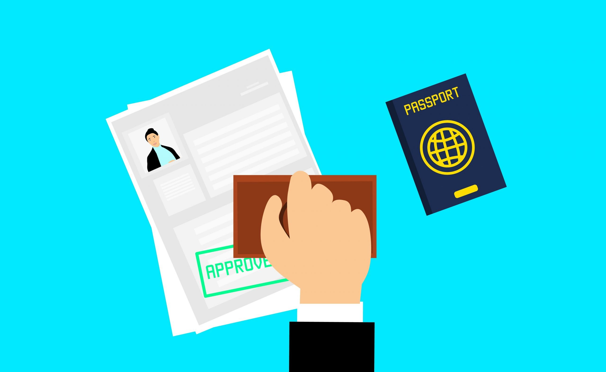 Visa information for travel based on your Passport